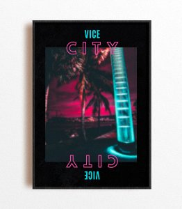 Poster NBA Miami City