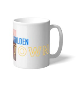 Caneca NBA Golden State City