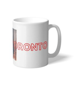 Caneca NBA Toronto City