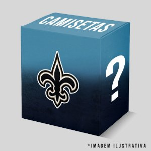 Kit - 3 Camisetas New Orleans Saints