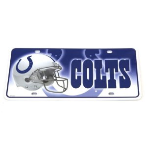 Placa Decorativa Indianapolis Colts