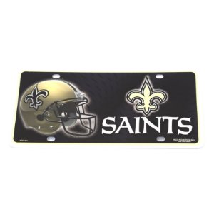 Placa Decorativa New Orleans Saints