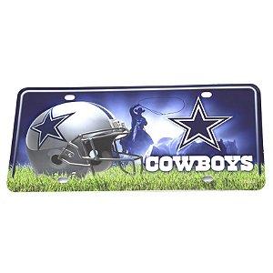 Placa Decorativa Dallas Cowboys