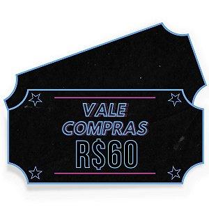 Vale Compras ActionShop R$60