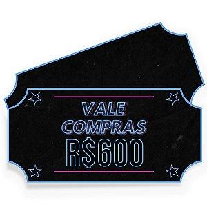 Vale Compras ActionShop R$600