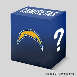 Kit - 3 Camisetas Los Angeles Chargers