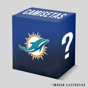 Kit - 3 Camisetas Miami Dolphins