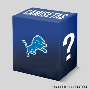 Kit - 3 Camisetas Detroit Lions
