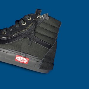 Tênis Vans Sk8-Hi Cap - Triple Black - The ONE
