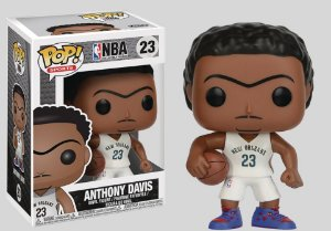 Funko Pop! Anthony Davis: NBA New Orleans Pelicans #23