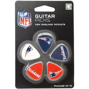 Guitar Picks NFL New England Patriots