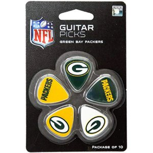 Guitar Picks Green Bay Packers