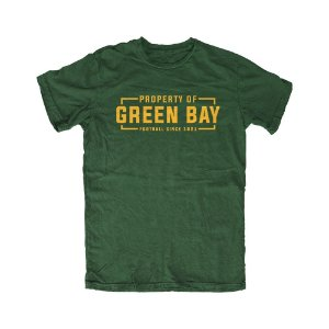 Camiseta PROGear Property Of Green Bay