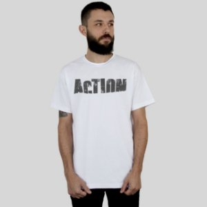 Camiseta Action Clothing Sign Branca
