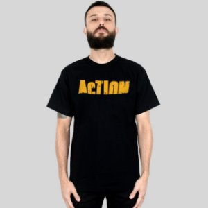 Camiseta Action Clothing Sign Preta