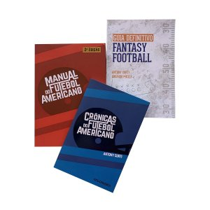 Pack com 3 livros Antony Curti