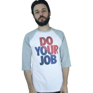 Ragla Profootball Do Your Job Branco/Cinza
