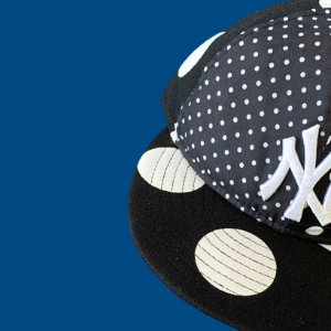 Boné New Era Retro Crown NY Yankees Polka Dot - The ONE