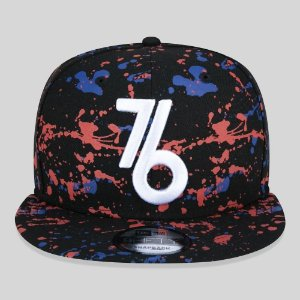 Boné New Era Philadelphia 76ERS NBA PAINT SPLATTER