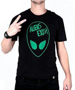 TESTE COR Camiseta blink-182 Aliens Exist