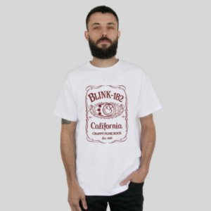 Camiseta blink-182 Jack Daniels
