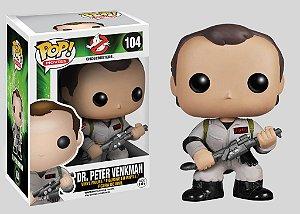 Funko Pop! Os Caça-Fantasmas - Dr. Peter Venkman #104