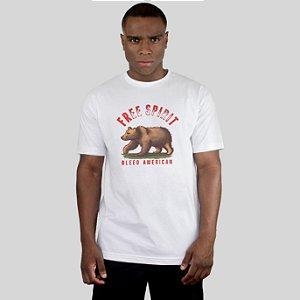 Camiseta Bleed American Free Spirit