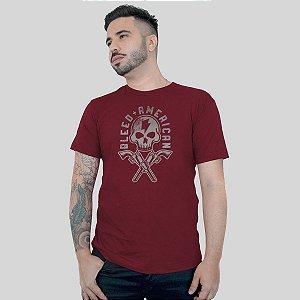 Camiseta Bleed Skull Walker