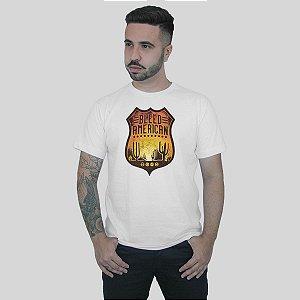 Camiseta Bleed American Route 66