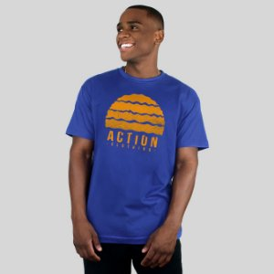 Camiseta Action Clothing Gradient