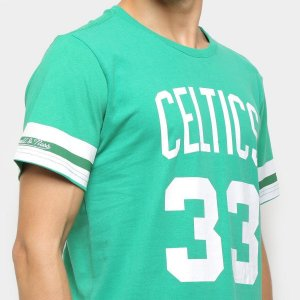Camiseta Boston Celtics Bird Mitchell and Ness