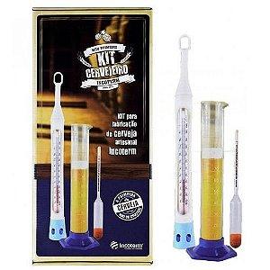 Kit Cervejeiro Para Medição Termômetro Incoterm