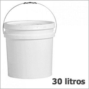 Balde Plástico Alimentício - 30 Litros
