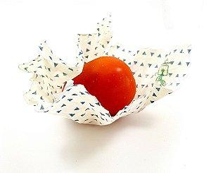 Eco Wrap Pequeno | Tecido Encerado Vegetal | Vegano