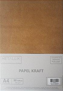 Papel A4 Kraft