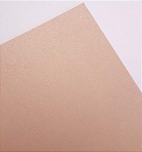 Papel perolado A4 colorido na massa liso Nude