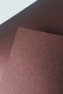Envelope Bico Liso (colorido na massa) Marsala