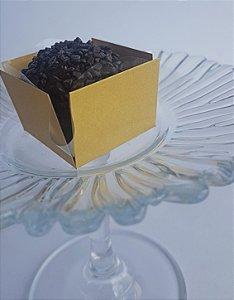 Forminha para Doce (3,5 x 3,5) Liso (colorido na massa) Golden