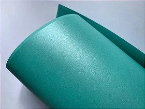 Papel perolado A4 colorido na massa liso Tifany