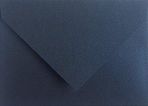 Envelope Bico Perolado Azul Noite