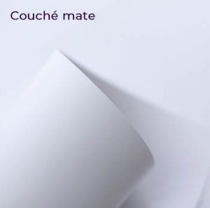 Papel Couche Mate Super A3 - 300 g/m²