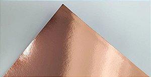 Papel Laminado A4 Liso Rosé Gold 180g