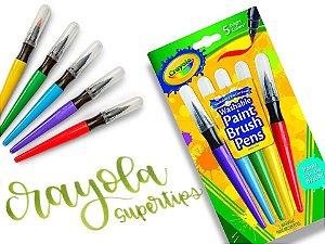 Caneta Pincel Crayola - Paint Brush Pens