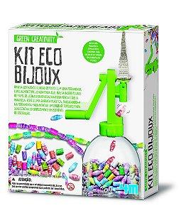 Kit Eco Bijoux - Faça suas Bijuterias Ecológicas - Criatividade Verde da 4M