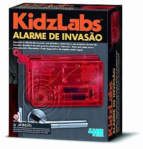 Brinquedo Detetive - Alarme de invasão - 4M