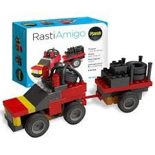 Carrinho 4x4 Rally - Rasti Amigo