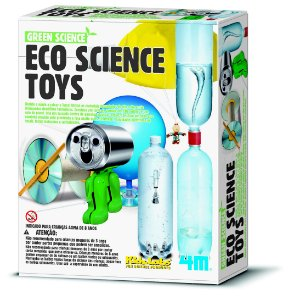 Brinquedo Eco Science Toys - Kit de Experiências