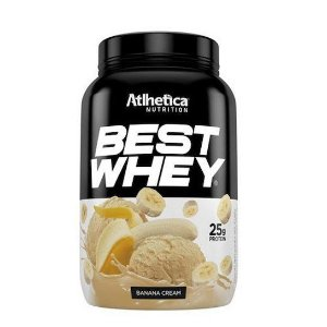 Best Whey 900g - Atlhetica Nutrition - Banana Cream