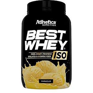 BEST WHEY ISO (900G) - MARACUJÁ  - ATLHETICA