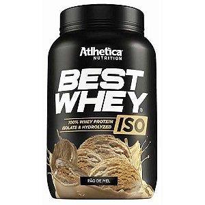 BEST WHEY ISO (900G) PÃO DE MEL  - ATLHETICA